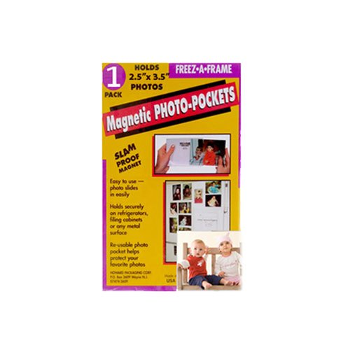 Freez-A-Frame Magnetic Photo Pocket 2.5 x 3 .5 (Wallet size) 10 Pack + Freez-A-Frame Combo Pack Magnetic Photo Frames + Freez-A-Frame Magnetic Photo Pocket 4 x 6 + Ultimate Accessory Bundle
