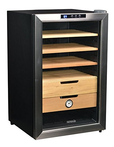 NewAir CC-300 400 Count Cigar Cooler (Cigar Cooler compare prices)