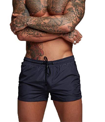 TMEOG Badeshorts für Herren, Badehosen für Herren Herren Badehose Kurze Schwimmhose Boxer Badepants Wassersport Kurze Hose(Schnelltrocknend)