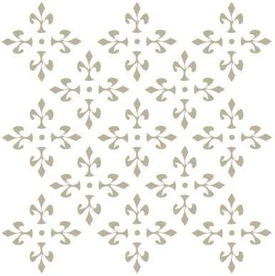 TODO-STENCIL Deco Fondo 131 Celosia Medidas exteriores 20x20 Medidas internas dise/ño 18 x 18 cm