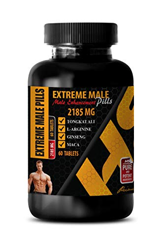 libido Enhancement for a Boost in Sex Drive - Extreme Male Enhancement Pills - tribulus libido Booster - 1 Bottle 60 Tablets by HS PRIME