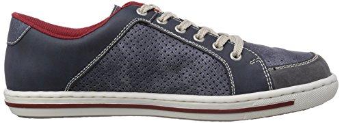Rieker 19007 Herren Sneakers Blau (rauch/jeans/denim / 45)