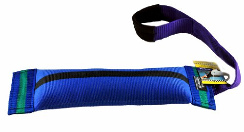 """""""The Big Tug"""" – Dog Fire Hose Tough Bite Tug for Medium – Extra Large Breeds!!! Great Toy for Your Dog!!! Comes in Different Fun Colors with a Strong Stitched Handle. This Tug Is 15″ Long By 4″ Width., My Pet Supplies"""