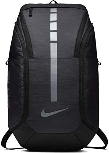 Nike Unisex Hoops Elite Pro Basketball Backpack Dark Grey Metallic Cool Grey