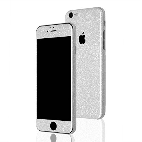 AppSkins Folien-Set iPhone 6 PLUS Full Cover - Diamond silver
