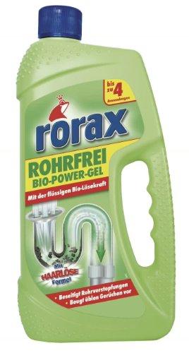 Rorax Rohrfrei Bio-Power-Gel, 2er Pack (2 x 1 l)