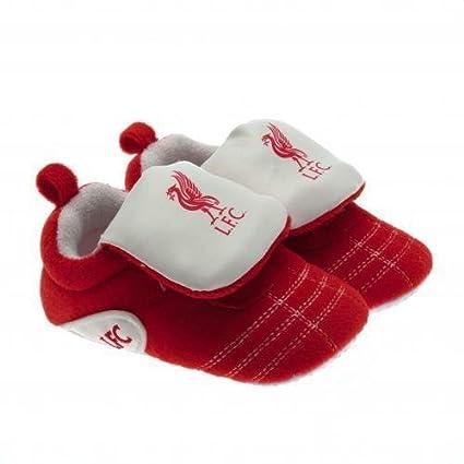 Nuevo bebé Liverpool FC Club De Fútbol cuna Velcro botas zapatos regalo 6/9 Meses