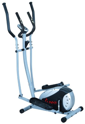 Magnetic Elliptical Machine Trainer by Sunny Health & Fitness – SF-E905