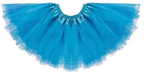 Dancina Fluffy Tutus for Baby Girls 0-5 Months Turquoise -