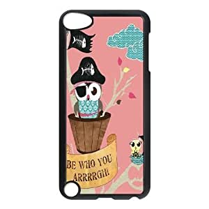 Customized Dual-Protective Case for Ipod Touch 5, Cut Owl Cover Case - HL-533445