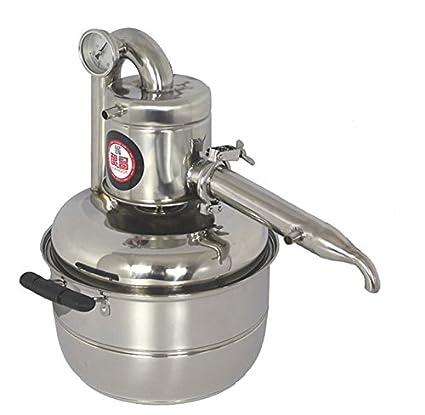 Amazon.com: New 10L Water Alcohol Distiller Home Brew Kit Still Wine ...