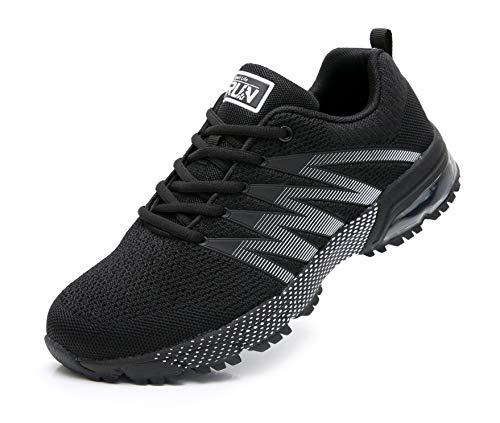AZOOKEN Unisex Uomo Donna Scarpe da Ginnastica Corsa Sportive Fitness Running Sneakers Basse Interior Casual all'Aperto