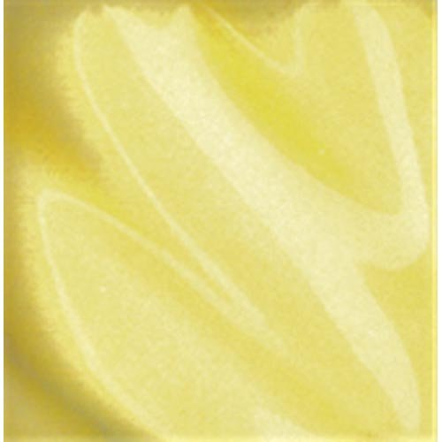 Amaco LG-760 Lead Free Liquid Gloss Glaze, Pale Yellow, Pint - Lead Free Glaze