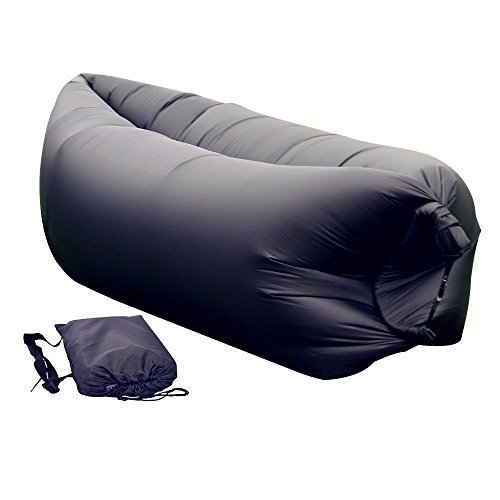sababa vibe chill inflatable lounge, hang out air chair hammock, Beach Couch Sofa with Portable Carry Bag ,Outdoor Bean Bag Chair Air Hammock