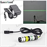 1875 532nm 10mW Green Line Generator Laser Module for Alignment DC3-5V