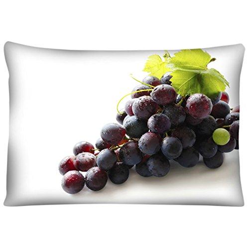 TSlook Door Mat Funny Fruits Grapes Purple Welcome Home Rug 24 x 16