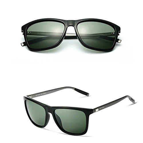 JUJU MALL-Aluminium Men's Polarized Driving Mirrored Sunglasses Glasses Outdoor - Raen Sunglasses Saint Malo