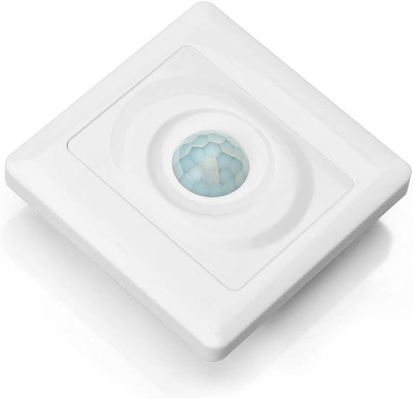 OSOYOO(オソヨー)人感センサー光りセンサー赤外線壁自動スイッチ