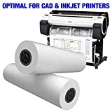 "Alliance CAD Paper Rolls, 24"" x 150', 92"