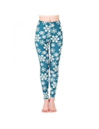 Stretch Pants, Changeshopping Girls Womens Slim Vintage Skinny Printed Leggings