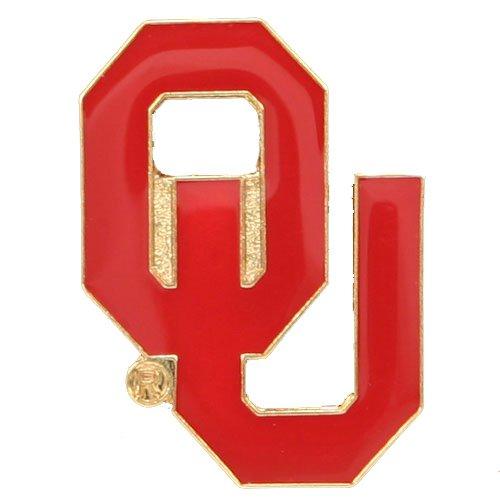 NCAA Oklahoma Sooners Logo Pin ()