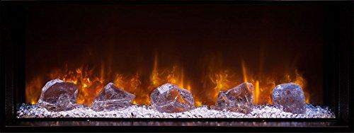 Modern Flames Landscape Series Glass Ember Kit, 100-Inch