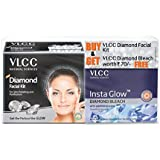 VLCC Diamond Facial Kit with Free Diamond Bleach, 30 g