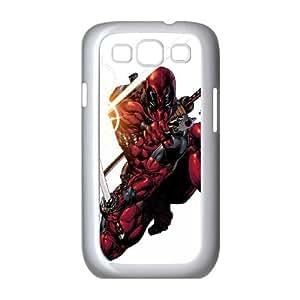 Samsung Galaxy S3 9300 Cell Phone Case White_Superhero Captain America, Spider Man, Iron Man, Wolverine, ant man, Green Arrow, Batman, Joker Logo (105) Svwgm