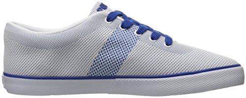 Polo Ralph Lauren Menns Halford Mote Sneaker Hvit / Safir