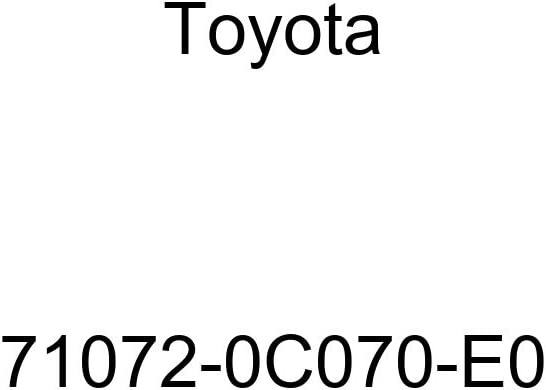 Toyota Genuine 71072-0C070-E0 Seat Cushion Cover