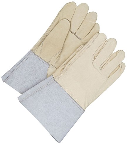 Bob Dale Gloves 60912749 Grain Cowhide Utility Glove Gauntlet Lined Thinsulate C100,