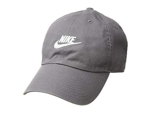(Nike Unisex H86 Futura Washed Hat Gunsmoke Grey/White 913011-036 )