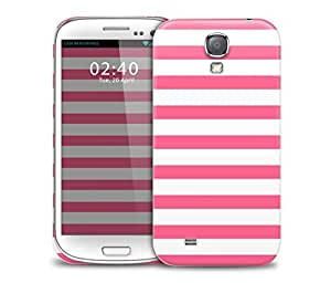 pink summer beach stripes Samsung Galaxy S4 GS4 protective phone case