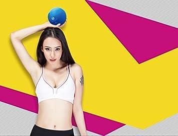 1 par de diseño ergonómico pelotas suaves de pesos mancuernas de mano Fitness Bola Home Fitness