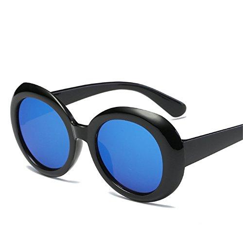 Gafas de forman sol marco de unisex 60m las m B del 150 América Europa y 143 gafas sol retro NIFG ovales de d8xP6wdE