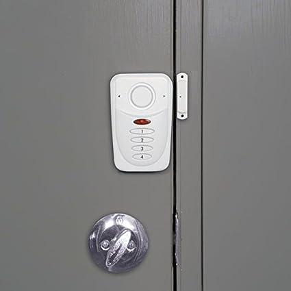 Sabre HS-DWA2 pack de 2 Alarma inal/ámbrica  antirrobo  para ventanas y puertas