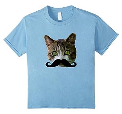 Mustache Cat T-Shirt Funny Cat Shirts