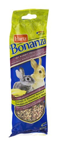 Pet Rabbit Small Animal Treat Stick (Pack of 3)
