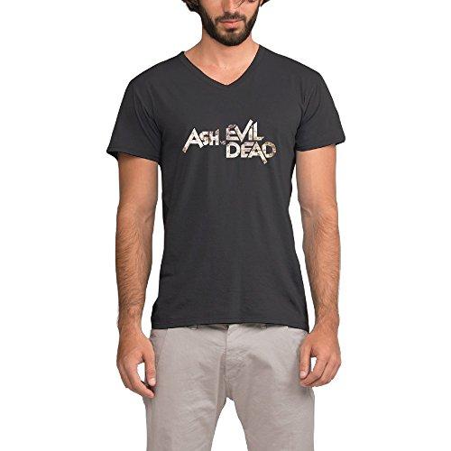 Ash Vs Evil Dead Logo Cool Men's V-Neck T Shirt