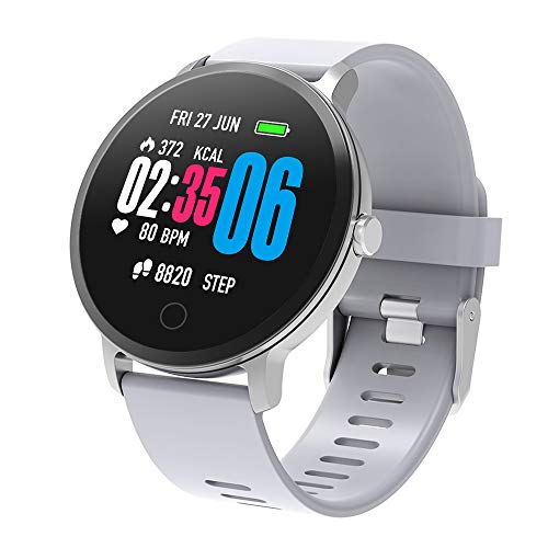 XINYUNG Fitness Tracker Smart Watch, Activity Tracker with Heart Rate Monitor, Waterproof Pedometer Watch with Sleep Monitor, Step Counter for Kids Women Men