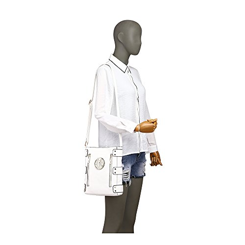 Body Cross Body Bag Women's LeahWard Bag White Cross q1dRE1Uw6