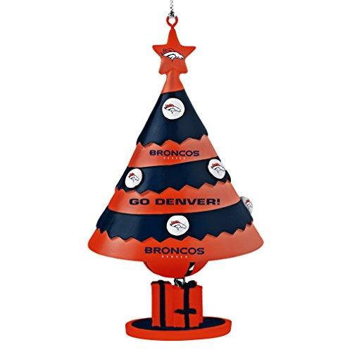 Denver Broncos Tree Bell Ornament