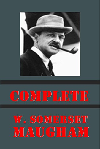 Complete Somerset Maugham - Of Human Bondage Moon and Sixpence Trembling of a Leaf Magician Liza of Lambeth Circle Bishop's Apron Hero Explorer Mrs. Craddock ... Orientations Merry-go-round Making of a Sa