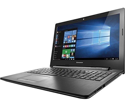 Lenovo IdeaPad 15.6 Inch HD Laptop (Intel Dual-Core Celeron N3060 1.6 GHz Processor, 4GB RAM, 500GB HDD, DVD RW, Bluetooth, Webcam, WiFi, HDMI, Windows 10) Black ()