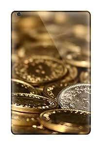 MMZ DIY PHONE CASEHot New Beautiful Golden Coin Desktop Case Cover For Ipad Mini/mini 2 With Perfect Design
