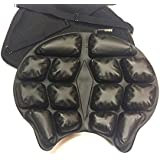 """Motorcycle Cruiser Air Seat Cushion """"Better than the Brand Name"""" 2x's the Poly material insert"""