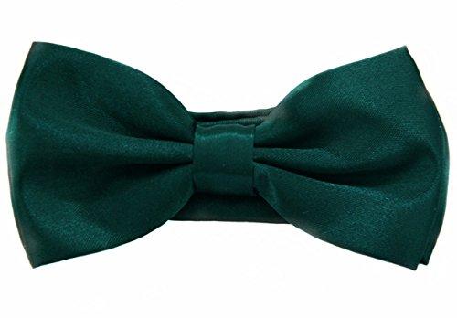 Soophen Pre Tied Mens Adjustable Bow Tie Hunter Green ()