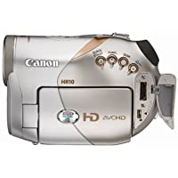 Canon HR10 AVCHD 3.1MP High Definition DVD Camcorder with 10x Optical Image Stabilized Zoom (Discontinued by Manufacturer)