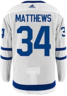 9d0d85533 Auston Matthews Toronto Maple Leafs Adidas Authentic Away NHL Hockey Jersey