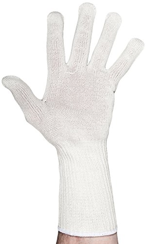UltraSource Cut Resistant Glove with Extended Cuff, ANSI level 5 Cut Resistance, X-Large, White (One Glove)